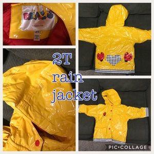Other - Size 2t lady bug rain jacket